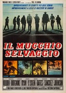 The Wild Bunch - Italian Movie Poster (xs thumbnail)