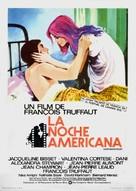 La nuit américaine - Spanish Movie Poster (xs thumbnail)