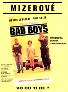 Bad Boys - Czech Movie Poster (xs thumbnail)