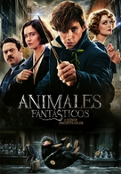 Fantastic Beasts and Where to Find Them - Argentinian Movie Cover (xs thumbnail)