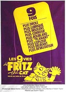 The Nine Lives of Fritz the Cat - French Movie Poster (xs thumbnail)