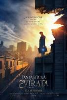 Fantastic Beasts and Where to Find Them - Czech Movie Poster (xs thumbnail)