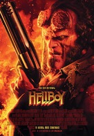 Hellboy - Portuguese Movie Poster (xs thumbnail)