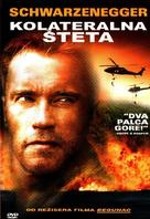 Collateral Damage - Croatian DVD movie cover (xs thumbnail)