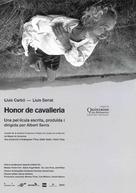 Honor de cavalleria - Spanish poster (xs thumbnail)