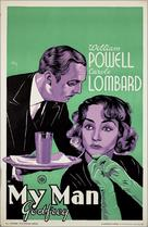 My Man Godfrey - Dutch Movie Poster (xs thumbnail)