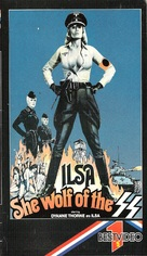 Ilsa: She Wolf of the SS - VHS cover (xs thumbnail)