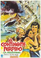 Atlantis, the Lost Continent - Spanish Movie Poster (xs thumbnail)