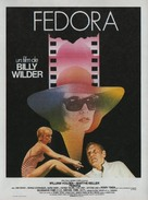 Fedora - French Movie Poster (xs thumbnail)