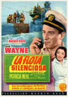 Operation Pacific - Spanish Movie Poster (xs thumbnail)
