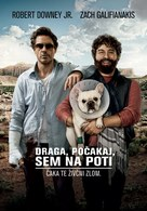 Due Date - Slovenian Movie Poster (xs thumbnail)