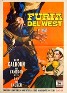 The Gun Hawk - Italian Movie Poster (xs thumbnail)