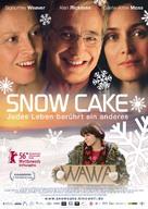 Snow Cake - German Movie Poster (xs thumbnail)