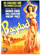 Bagdad - French Movie Poster (xs thumbnail)