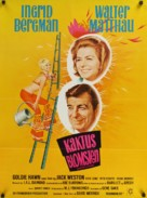 Cactus Flower - Danish Movie Poster (xs thumbnail)