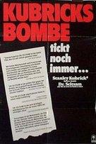 Dr. Strangelove - German Movie Poster (xs thumbnail)