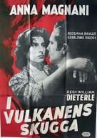 Vulcano - Swedish Movie Poster (xs thumbnail)