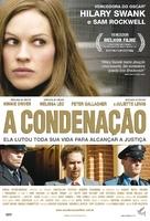 Conviction - Brazilian Movie Poster (xs thumbnail)