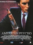 American Psycho - Polish Movie Poster (xs thumbnail)