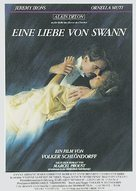 Un amour de Swann - German Movie Poster (xs thumbnail)