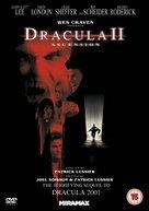 Dracula II: Ascension - British DVD movie cover (xs thumbnail)