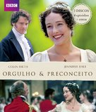 """Pride and Prejudice"" - Brazilian Blu-Ray movie cover (xs thumbnail)"