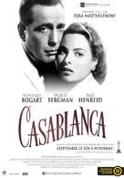Casablanca - Hungarian Movie Poster (xs thumbnail)