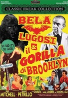 Bela Lugosi Meets a Brooklyn Gorilla - Italian DVD movie cover (xs thumbnail)