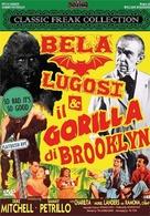Bela Lugosi Meets a Brooklyn Gorilla - Italian DVD movie cover (xs thumbnail)