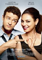 Friends with Benefits - Vietnamese Movie Poster (xs thumbnail)