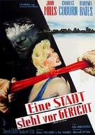 Town on Trial - German Movie Poster (xs thumbnail)