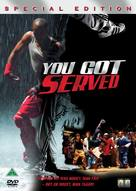 You Got Served - Danish Movie Cover (xs thumbnail)