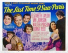 The Last Time I Saw Paris - Movie Poster (xs thumbnail)
