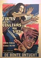 Tutti i colori del buio - Belgian Movie Poster (xs thumbnail)
