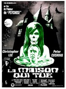The House That Dripped Blood - French Movie Poster (xs thumbnail)