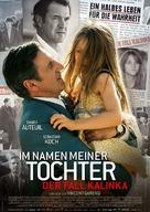 Au nom de ma fille - German Movie Poster (xs thumbnail)