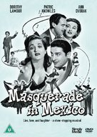 Masquerade in Mexico - British DVD movie cover (xs thumbnail)