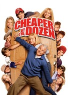 Cheaper by the Dozen - DVD cover (xs thumbnail)