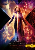 Dark Phoenix - Hungarian Movie Poster (xs thumbnail)