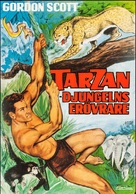 Tarzan and the Trappers - Swedish Movie Poster (xs thumbnail)