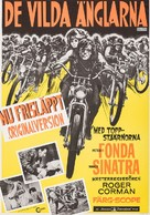 The Wild Angels - Swedish Movie Poster (xs thumbnail)