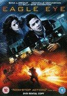 Eagle Eye - British DVD movie cover (xs thumbnail)