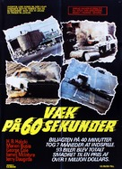 Gone in 60 Seconds - Danish Movie Poster (xs thumbnail)