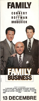 Family Business - French poster (xs thumbnail)