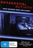 Paranormal Activity - Australian DVD movie cover (xs thumbnail)