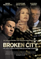 Broken City - Chilean Movie Poster (xs thumbnail)