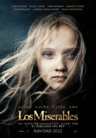 Les Misérables - Spanish Movie Poster (xs thumbnail)