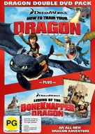 How to Train Your Dragon - New Zealand DVD movie cover (xs thumbnail)