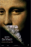 The Da Vinci Code - Polish Movie Poster (xs thumbnail)