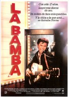 La Bamba - Spanish Movie Poster (xs thumbnail)